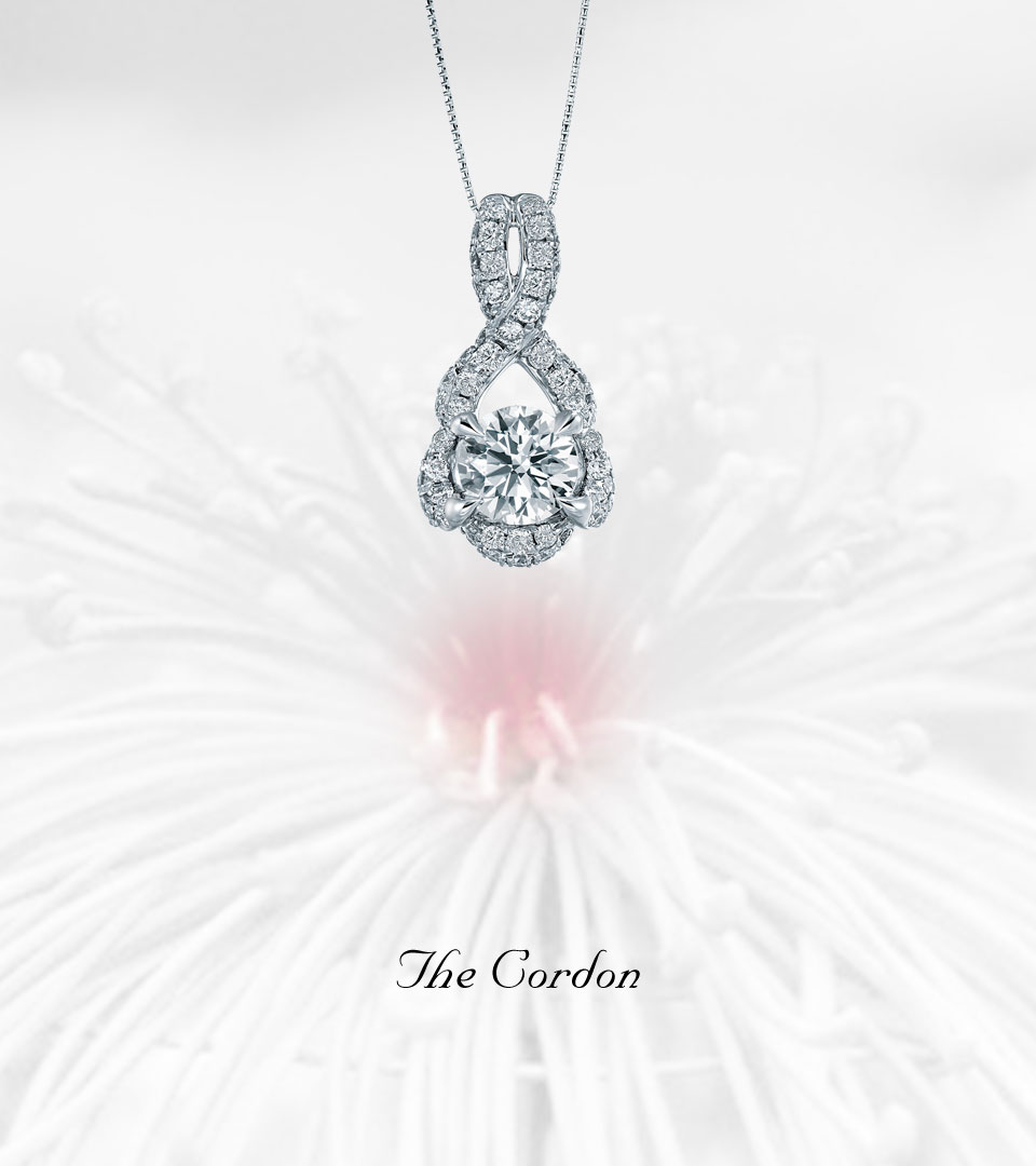 The Cordon Pendant, Earrings and Ring