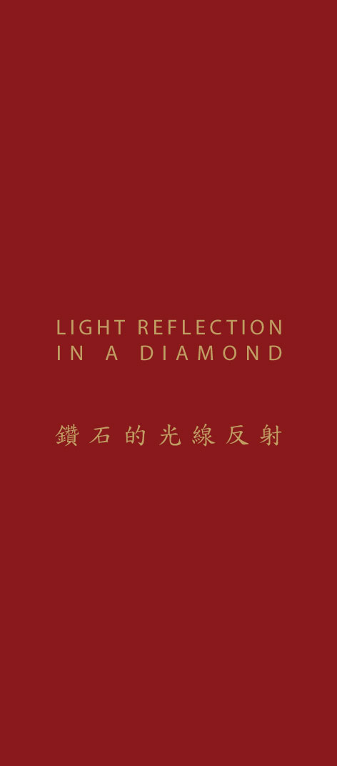 Light Reflection In A Diamond